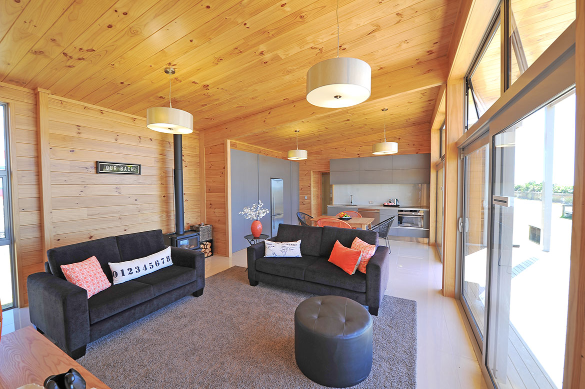 Natural clear New Plymouth Show Home