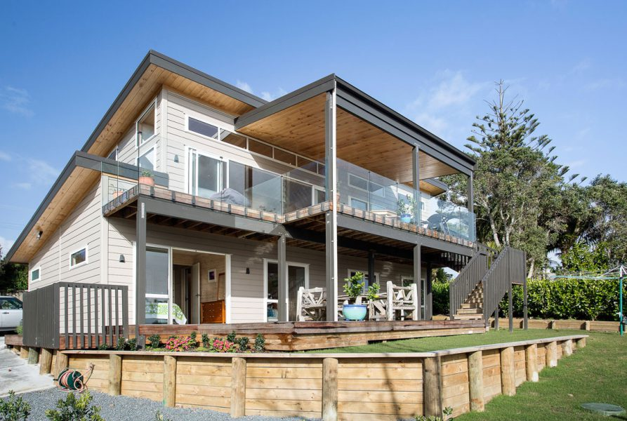 West Coast Cliff Top Family Home image 0
