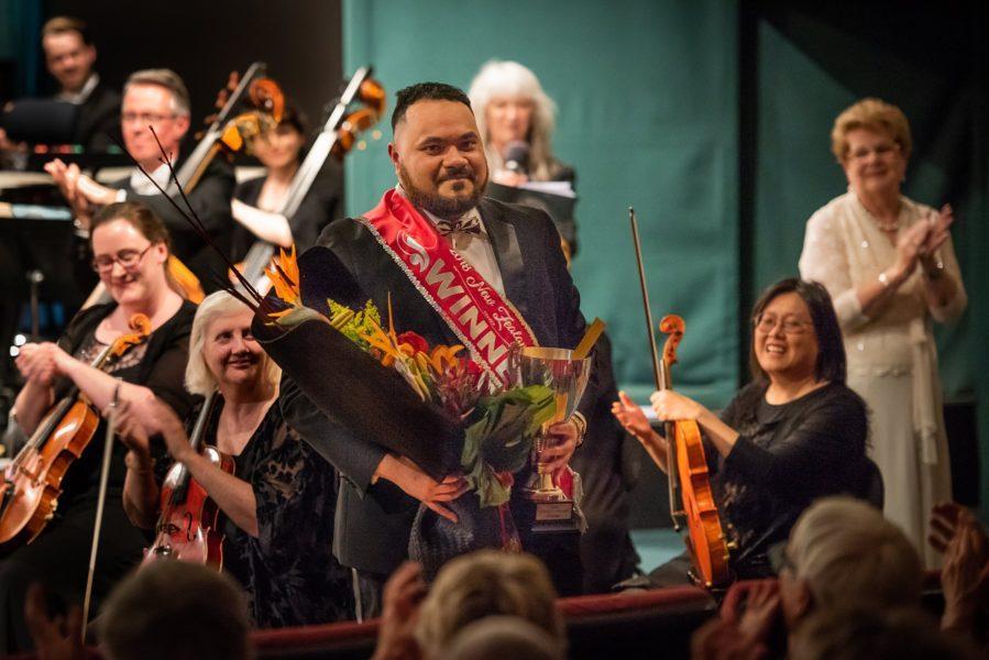 2018 NZ Aria Winner, Manase Latu