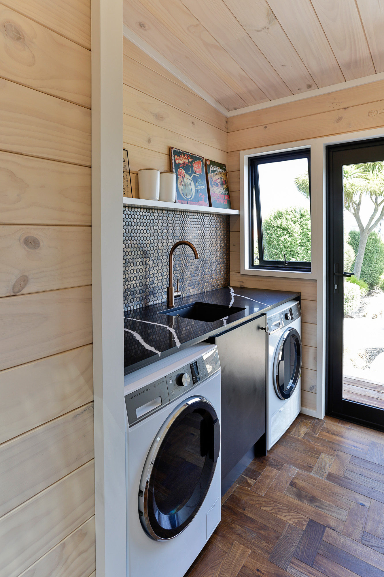 Lockwood Taupo Show home laundry