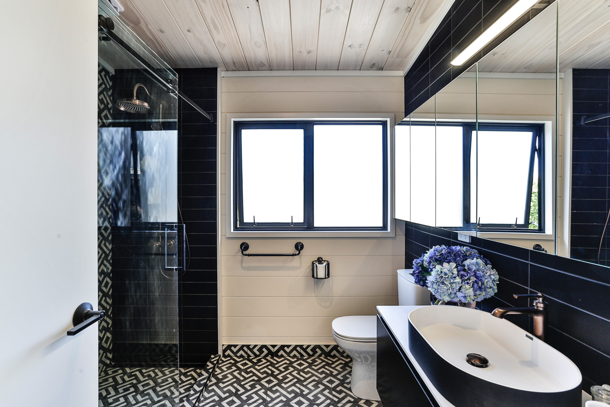 Lockwood Taupo bathroom with painted walls