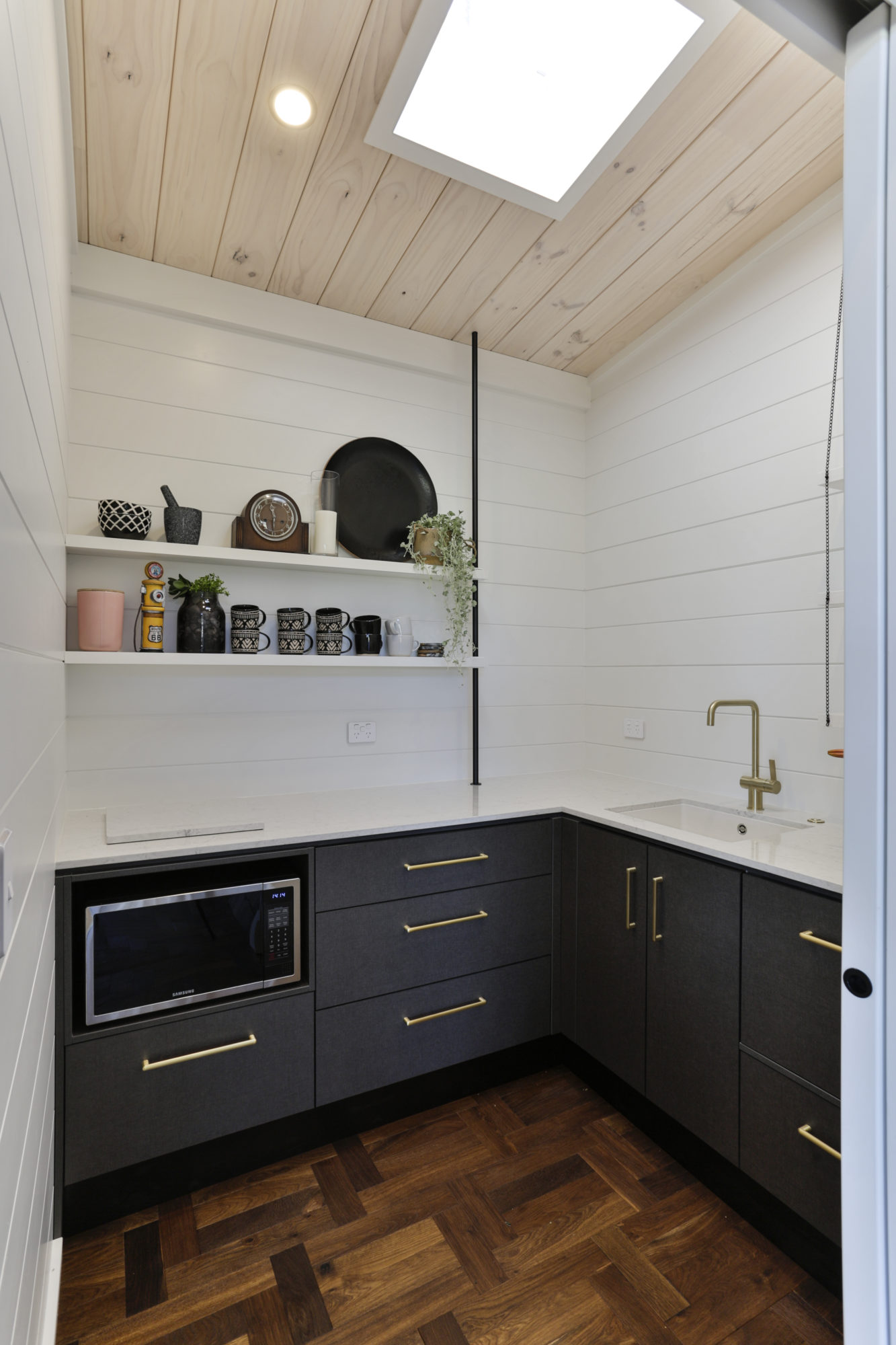 Lockwood Taupo Scullery painted white