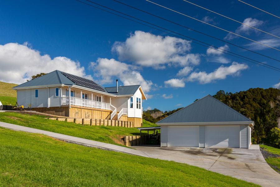 An off-grid Lockwood Villa stands proud in Puhoi Village image 4