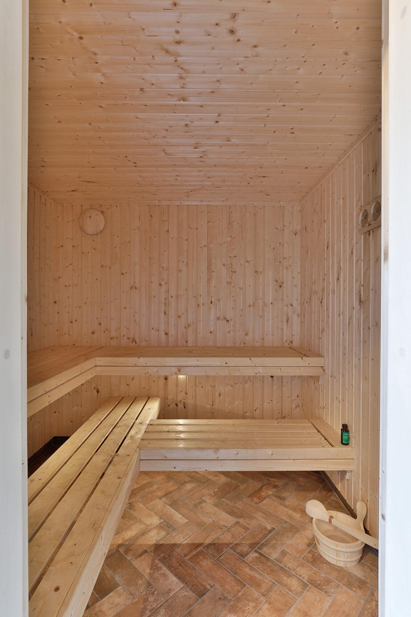 A unique Lockwood build with a sauna
