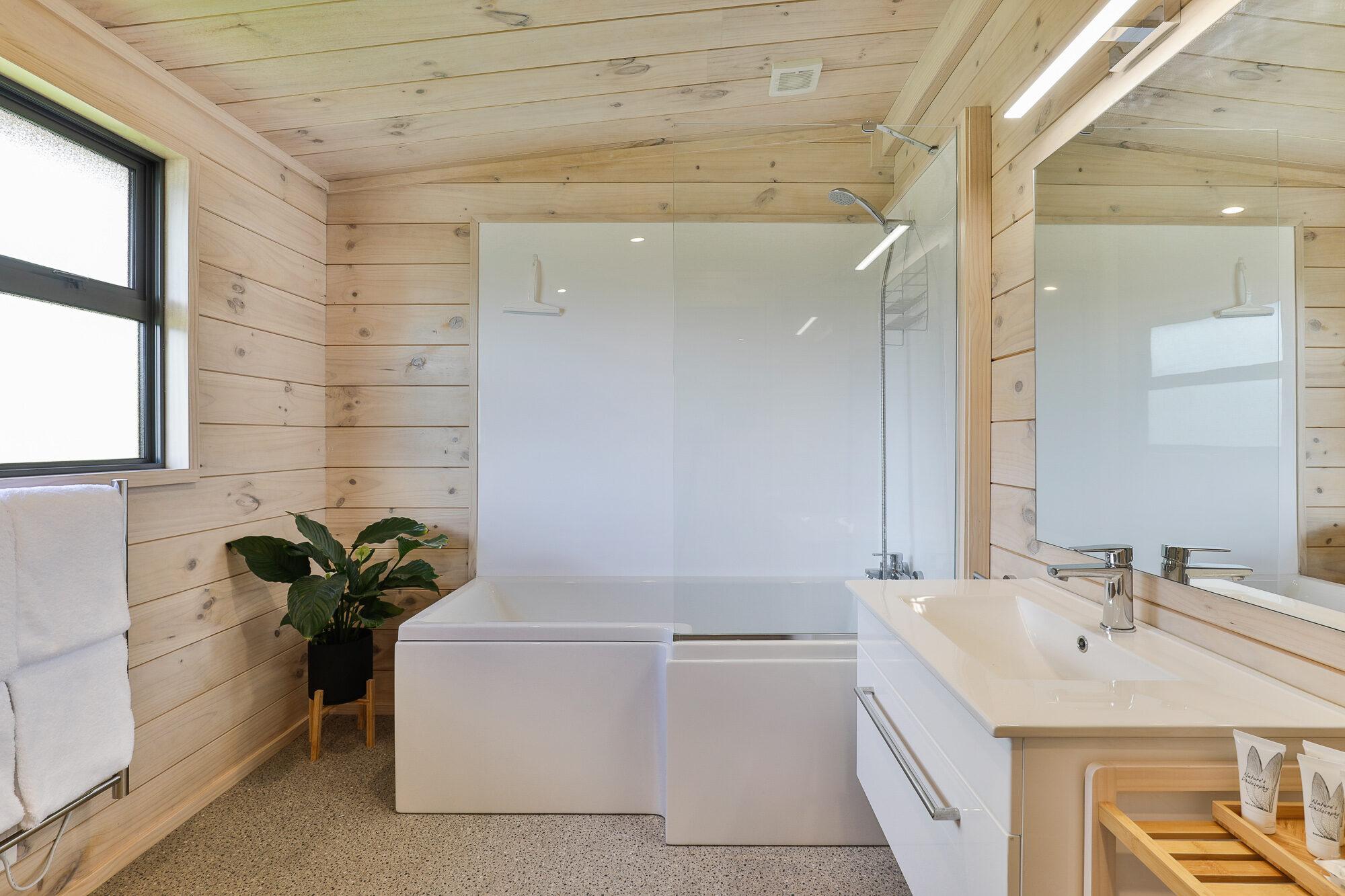 Simple yet stunning Lockwood bathroom